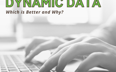 Static vs. Dynamic Data – Which is Better and Why?